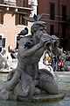 Rome, Italy, Triton, The Moor Fountain on Piazza Navona.jpg