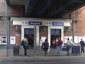 Romford - Romford railway station in 2015