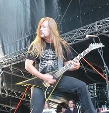 Roope playing with Stone in 2008.