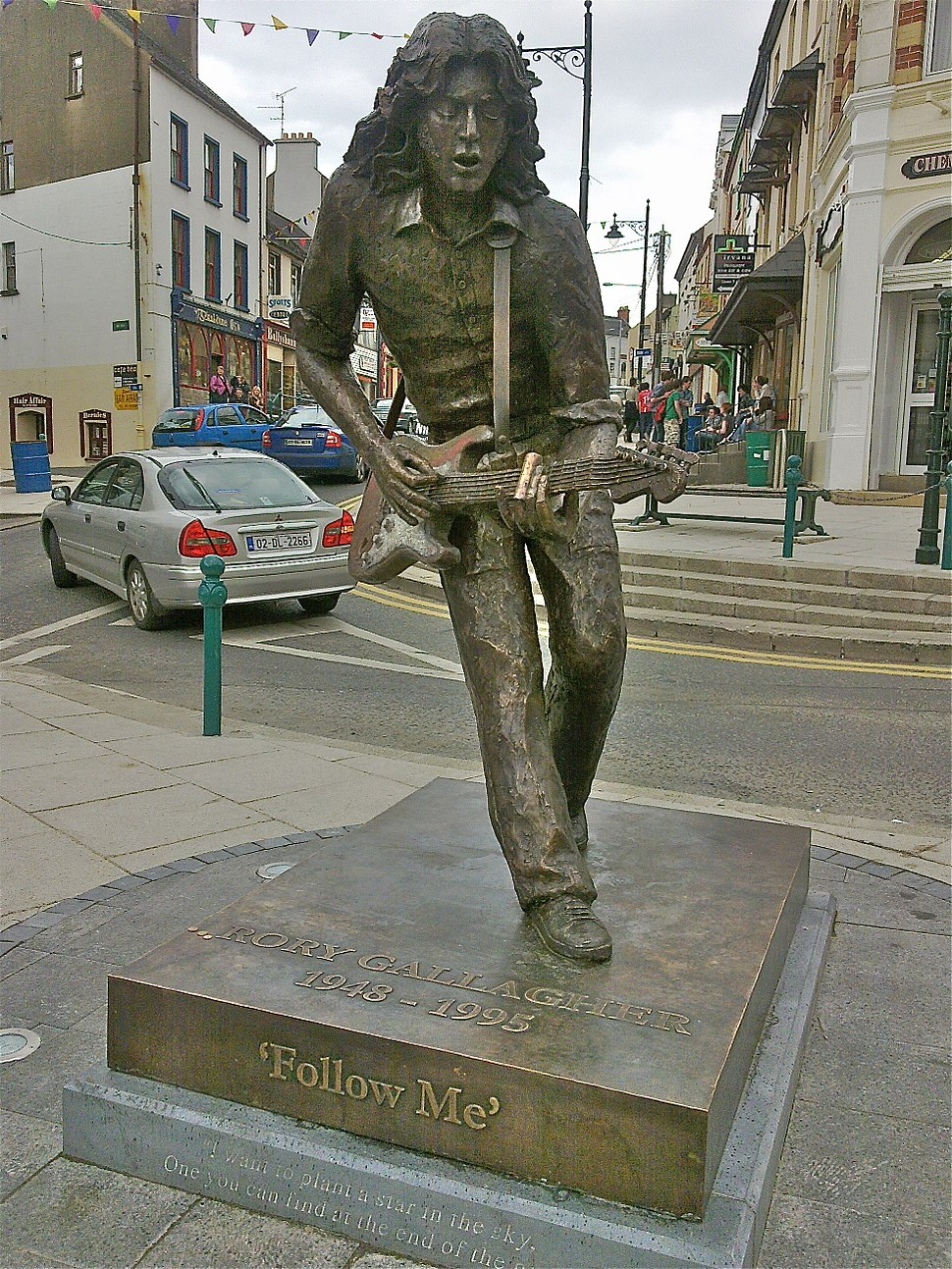 Rory Gallagher Statue - Ballyshannon
