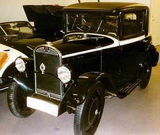 Automobiles L. Rosengart - Rosengart Cabriolet 1930