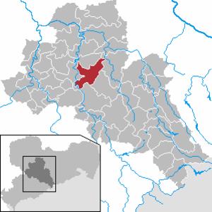 Rossau, Saxony - Image: Rossau in FG