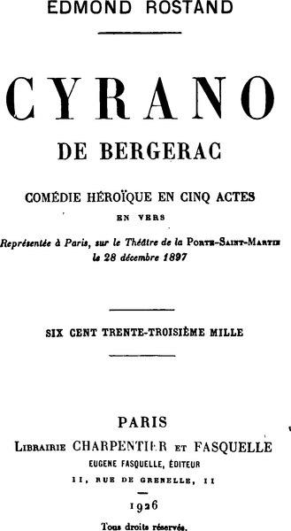 File:Rostand - Cyrano de Bergerac.djvu