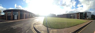 Rothamsted Manor - Panorama of Rothamsted Research, Rothamsted Manor