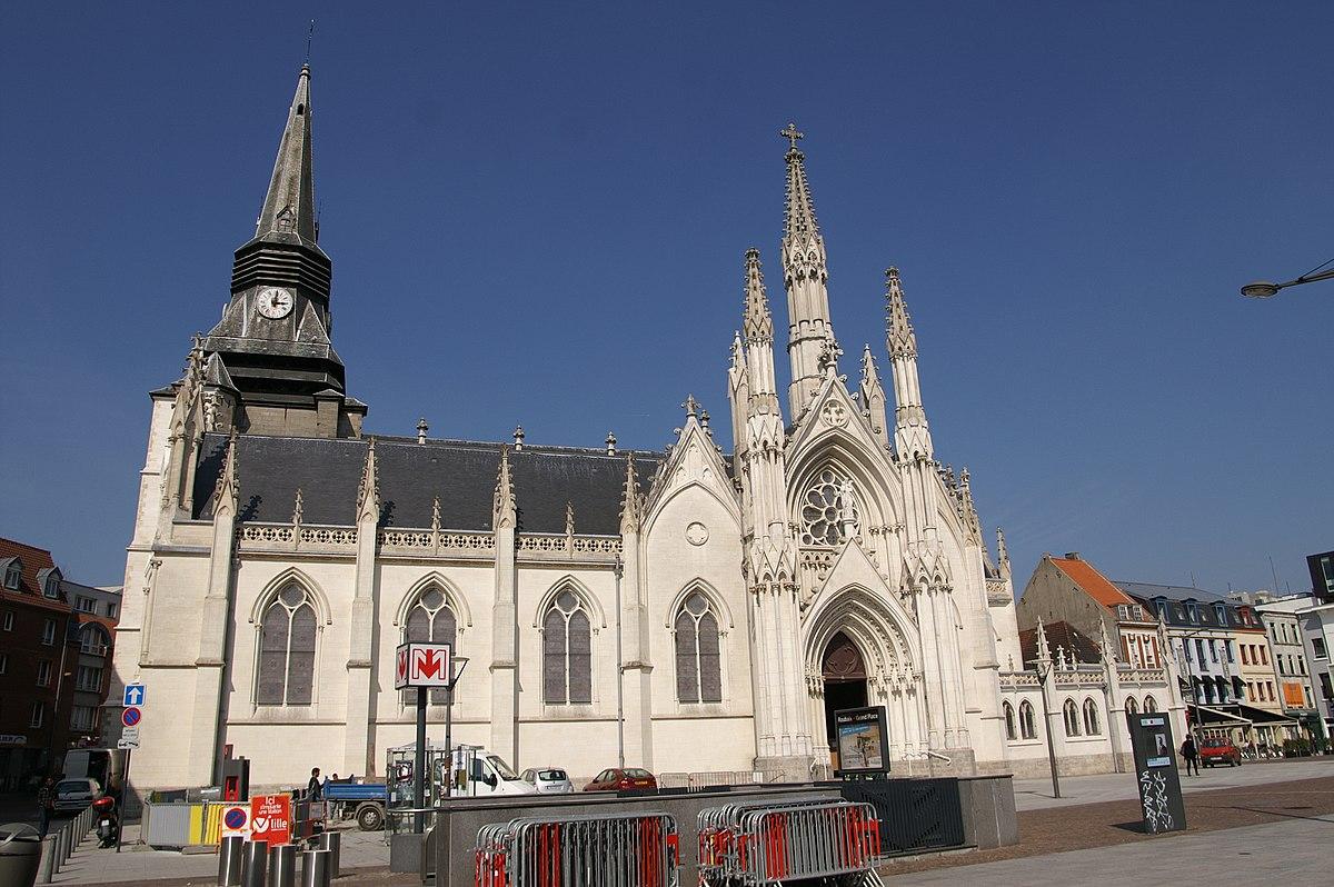 Roubaix grand place m tro de lille m tropole wikidata - Immo saint martin roubaix ...