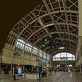 Rouen - Gare de Rouen-Rive-Droite - Rouen Trainstation 1928 by Adolphe Dervaux - View North & Up - Art Nouveau.jpg