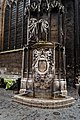 Rouen - Rue Damiette - Rue de Martainville - View SW on corner of Saint-Maclou Church.jpg
