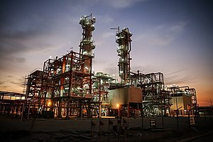 Asaluyeh - Image: Rouhani trip to Pars Especial Economic Zone