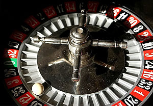 Randomness - The ball in a roulette can be used as a source of apparent randomness, because its behavior is very sensitive to the initial conditions.