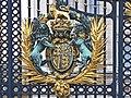 Royal Coat of Arms - Buckingham Palace - geograph.org.uk - 2641405.jpg