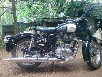 Royal Enfield (India) - Royal Enfield Classic 350, 2010 model