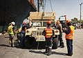 Royal Thai Navy and U.S. Service Members Offload from the USNS Maj. Stephen W. Pless 160128-M-AR450-574.jpg