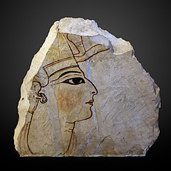 Ostracon au profil royal-N 498