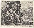 Rudolf II van Habsburg Imperator Cæsar Avgvstvs. (titel op object) Invictissimvs (titel op object) Wereldheersers (serietitel), RP-P-1904-47.jpg