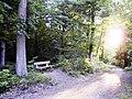 Ruhebank im Gewann Beiburg, westlich vom Spielplatz Blaues Loch. - panoramio.jpg