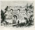 Ruins of a Byzantine church, near Elis - Mahaffy John Pentland - 1890.jpg