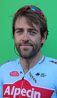 Alex Dowsett British racing cyclist
