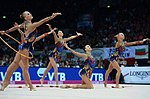 Russian Rhythmic Gymnastics Group 2015.jpg