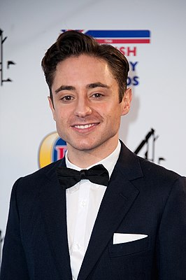 Ryan Sampson bij de British Comedy Awards in 2013