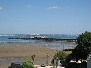 Ryde - Ryde Pier seen from Ryde
