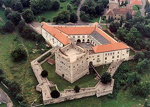 Peter I Csák - Sárospatak Castle