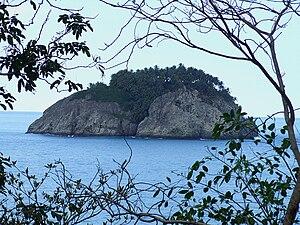Ilhéu de Santana - Ilhéu de Santana, seen from São Tomé Island