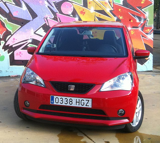 Image of SEAT Mii front view-2