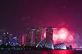 SG50 rehearsal firework at Marina Bay Singapore (19177921824).jpg
