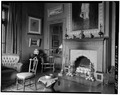 SITTING ROOM AT WEST CORNER OF STRUCTURE, FIRST FLOOR - Olana, State Route 9G, Hudson, Columbia County, NY HABS NY,11-HUD,1-16.tif