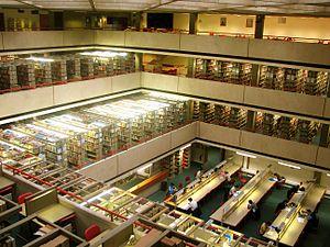 SOAS Library interior view