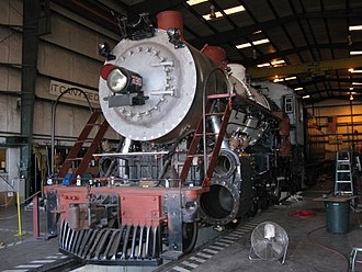 Southern Railway 630 - 630 being restored to operating condition in 2010