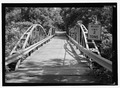 SOUTH PORTAL, LOOKING NORTH-NORTHEAST. - Shaw Bridge, Claverack, Columbia County, NY HAER NY,11-CLAV,3-2.tif