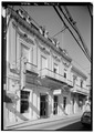 SOUTH SIDE (106 Calle Comerico), FROM SOUTHWEST - Vendrell,Fernando,Casa, 3 Calle Amor, Ponce, Ponce Municipio, PR HABS PR,6-PONCE,5-5.tif