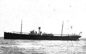 A port-side view of SS El Occidente as she appeared before World War I