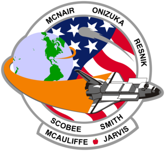 Dick Scobee - Image: STS 51 L patch small