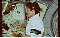 STS065-37-004 - STS-065 - CCK - Mukai performs cell fixation operation at Workbench - DPLA - 0a83b96c02b344ce478a06526db64fb2.jpg