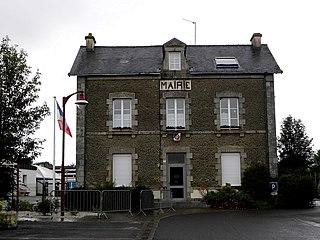 Saint-Denis-sur-Sarthon Commune in Normandy, France