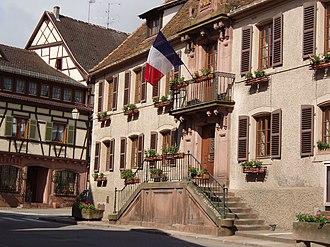 Saint-Hippolyte, Haut-Rhin - Town hall