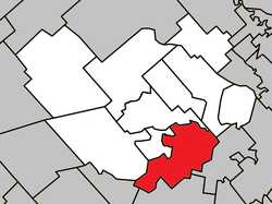 Location within Montcalm RCM.