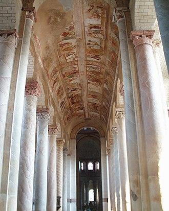 1090s in architecture - Image: Saint Savin nef