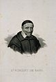 Saint Vincent de Paul. Line engraving by Pigeot. Wellcome V0006049.jpg