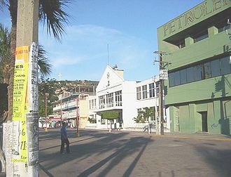 Istmo de Tehuantepec - Salina Cruz, the largest city in Istmo de Tehuantepec.