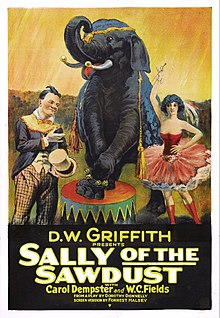 Sally of the Sawdust (film poster).jpg
