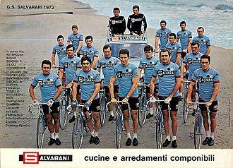 Salvarani (cycling team) - The Salvarani team of 1974