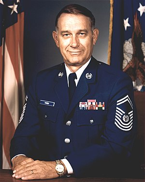Sam Parish - 8th Chief Master Sergeant of the Air Force (1983-1986)