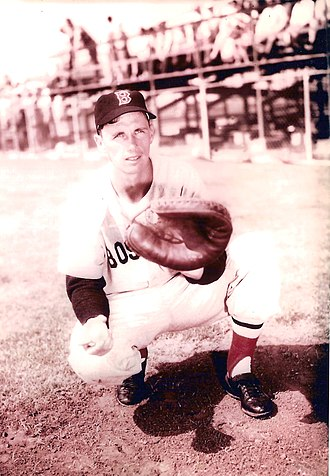 Sammy White (baseball) - White in 1952