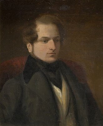 Frederick Thomas Lines - Lines' portrait of his father Samuel (1778–1863); in the collection of Birmingham Museums Trust.