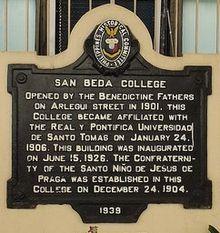 San Beda College - Wikipedia