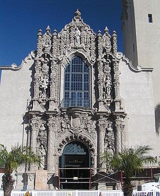Plateresque - California Building, Bertram Goodhue, architect, 1917