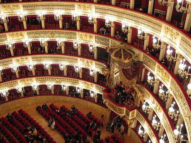 Opera San Carlo à Naples.